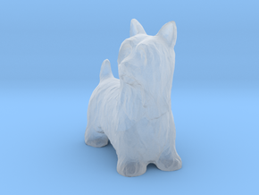 O Scale Scottish Terrier in Smooth Fine Detail Plastic