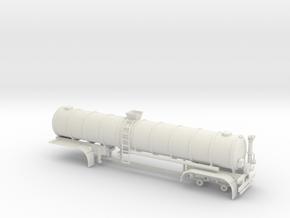 1/50th 40 foot liquid manure fertilizer tanker  in White Natural Versatile Plastic