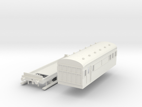 Works Unit Coach Bachmann in White Natural Versatile Plastic