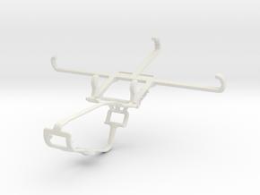 Controller mount for Xbox One & HTC Wildfire E1 li in White Natural Versatile Plastic