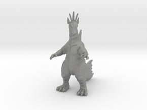 Titanosaurus 75mm kaiju monster miniature game dnd in Gray PA12