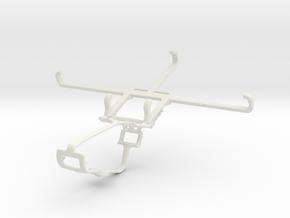 Controller mount for Xbox One & Xiaomi Poco C3 in White Natural Versatile Plastic