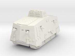 A7V 501 female Tank 1/76 in White Natural Versatile Plastic