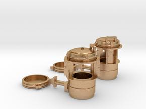 D&RGW Handlan Radial Class Lamps, Electric in Natural Bronze: 1:20