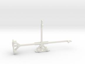 Samsung Galaxy M31 Prime tripod & stabilizer mount in White Natural Versatile Plastic