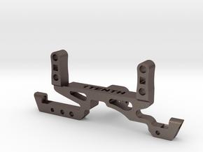 Metal Truss w SOA for Redcat HD Portal Axles in Polished Bronzed-Silver Steel