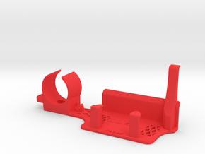 XP Deus Organizer (for 5x9 HF Elliptical) in Red Processed Versatile Plastic