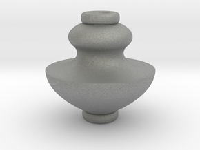 Ornament - plumb bobble in Gray PA12