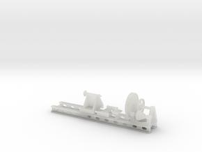 Wheel Lathe standard gauge HO Scale in Smooth Fine Detail Plastic