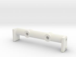 Tamiya Fox B7 B part Front Brace in White Natural Versatile Plastic
