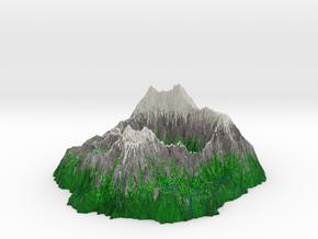 Crater 2 in Natural Full Color Sandstone
