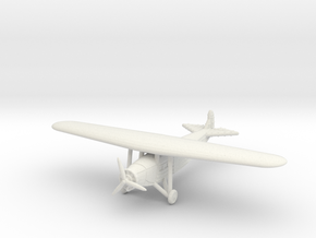 1/285 (6mm) Fokker YC-14A in White Natural Versatile Plastic