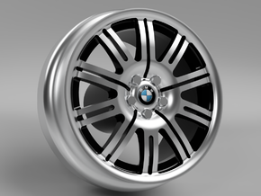 1/64 scale BMW M3 Style 67 wheels - 9mm Dia in Smoothest Fine Detail Plastic
