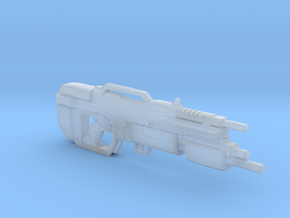 Aliens Assault Rifle 1:6 scale in Smooth Fine Detail Plastic