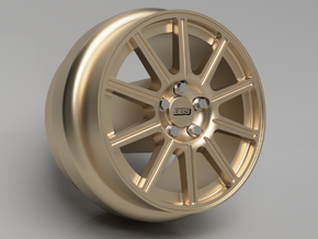 1/64 scale BBS Impreza WRX wheels 8mm Dia - 4 sets in Smoothest Fine Detail Plastic