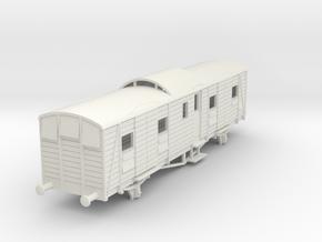 o-76-sr-night-ferry-passenger-brake-van in White Natural Versatile Plastic