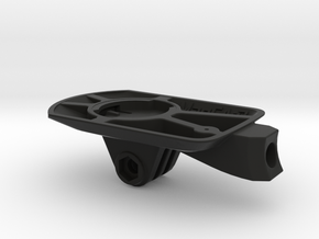 Wahoo Elemnt Roam GoPro Easton ICM Mount in Black Natural Versatile Plastic