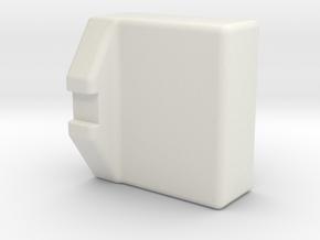 cale lipo shorty Kyosho MP10e in White Natural Versatile Plastic