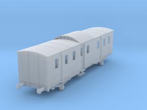 o-148fs-sncf-night-ferry-passenger-brake-van in Smooth Fine Detail Plastic