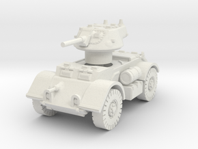 T17E1 Staghound Mk I 1/87 in White Natural Versatile Plastic