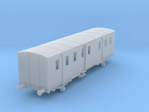 o-120fs-sncf-night-ferry-passenger-brake-van-final in Smooth Fine Detail Plastic