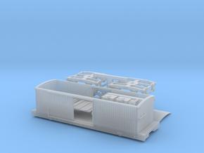 R01bim B&O Tyson boxcar Civil War, interior, MT in Smoothest Fine Detail Plastic
