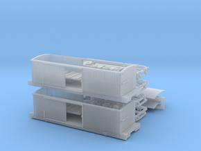 R01bim x2 B&O Tyson boxcar Civil War, interior, MT in Smoothest Fine Detail Plastic