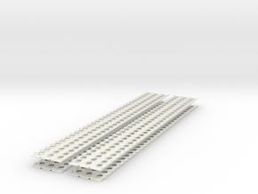1-6 X4 PSP Marsden Matting in White Natural Versatile Plastic