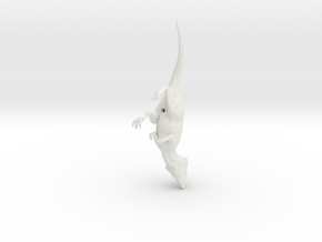 Aquilops running pose in White Natural Versatile Plastic