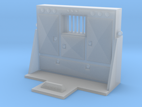 1/64th Scale Cabinet Style Headache rack 2 in Smooth Fine Detail Plastic