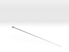 Hairpin accessories in Polished Bronzed-Silver Steel
