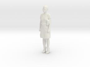 Printle C Femme 285 - 1/24 - wob in White Natural Versatile Plastic
