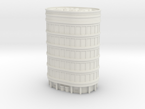 Oval Office Tower 1/400 in White Natural Versatile Plastic