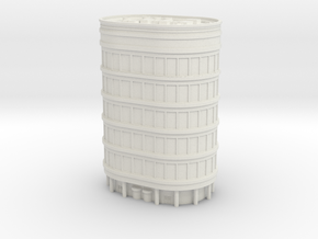 Oval Office Tower 1/500 in White Natural Versatile Plastic
