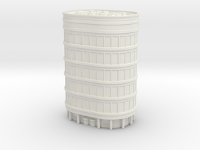 Oval Office Tower 1/700 in White Natural Versatile Plastic