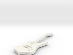 Guitar - Iceman in White Strong & Flexible