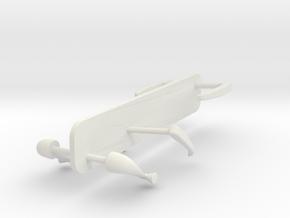 Handle-Set-1to8 in White Natural Versatile Plastic