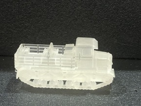 Voroshilovets tractor 1/144 in Smooth Fine Detail Plastic