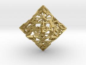 Emperor D10 in Natural Brass