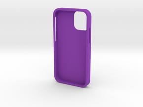 iPhone12 mini cover in Purple Processed Versatile Plastic