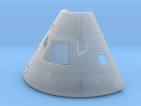 27b-Command Module-Open hatch in Smooth Fine Detail Plastic