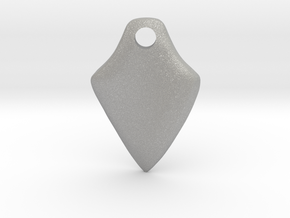 Twisted Thicc Pick ~1.7mm (DOWN twist) Wrist-Saver in Aluminum