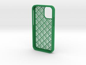 iPhone12 mini cover6 in Green Processed Versatile Plastic