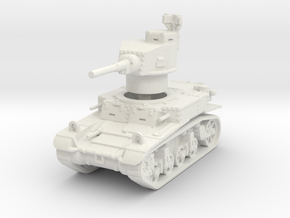 M3 Stuart early 1/120 in White Natural Versatile Plastic