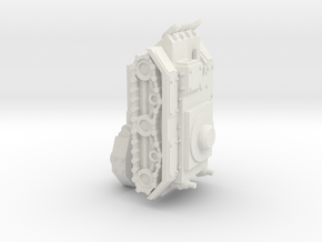 6mm Epic Ork/Junker Battlewagon/Tank in White Natural Versatile Plastic