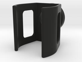 Mini 2 - Weitwinkel Adapter Linse v2 in Black Natural Versatile Plastic