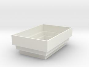 folging bowl in White Natural Versatile Plastic