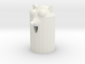 Chihuahua tissue paper box in White Natural Versatile Plastic: Medium