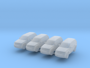 Jeep Grand Cherokee (x4) 1/285 in Smooth Fine Detail Plastic