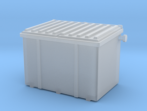1/64 Dumpster 2 in Smooth Fine Detail Plastic